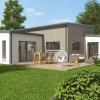 Plan 3D d'une maison passive proposée par Arc en Ciel