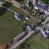 Vue aérienne d'un terrain constructible en Maine-et-Loire (49)