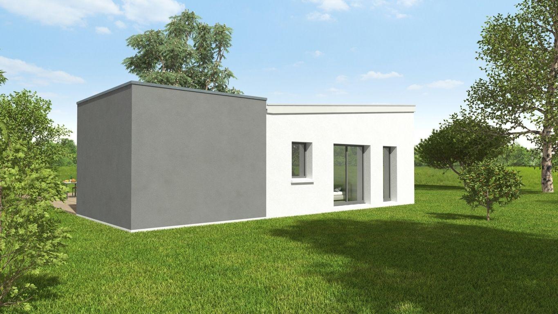 Plan 3D façade maison modèle Arnoult