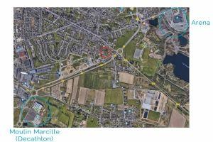 Plan d'accès aux Ponts de Cé