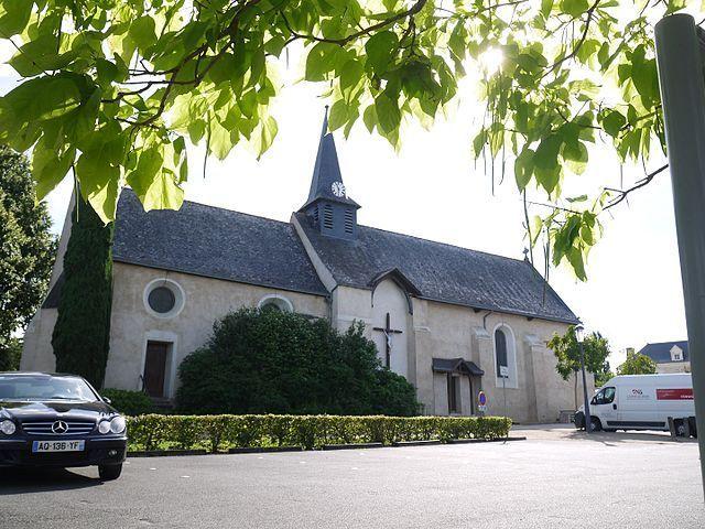Église Saint-Gilles à Beaucouzé
