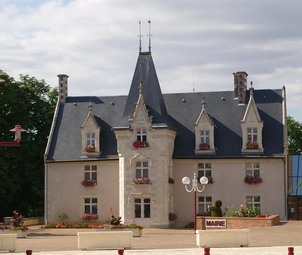 Hôtel de ville, Montreuil-Juigné