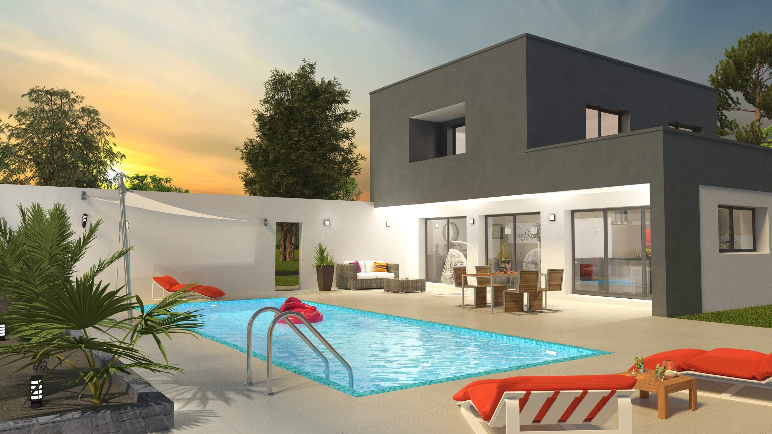 Création maison moderne Angers